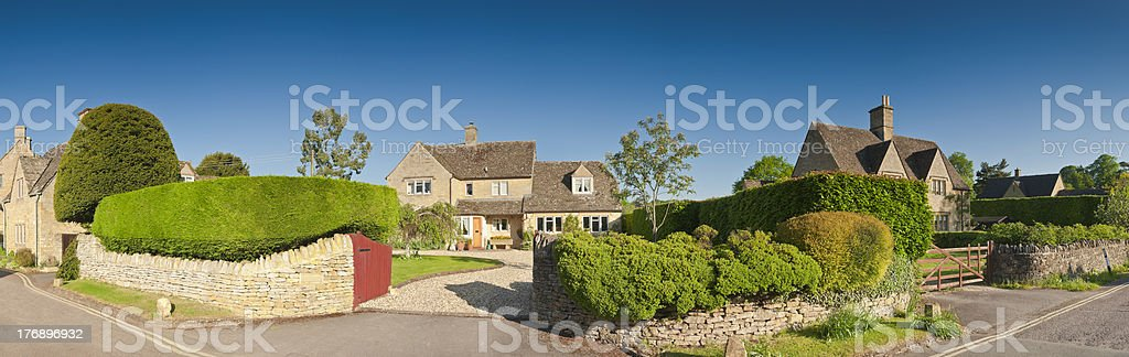 Idyllic homes royalty-free stock photo