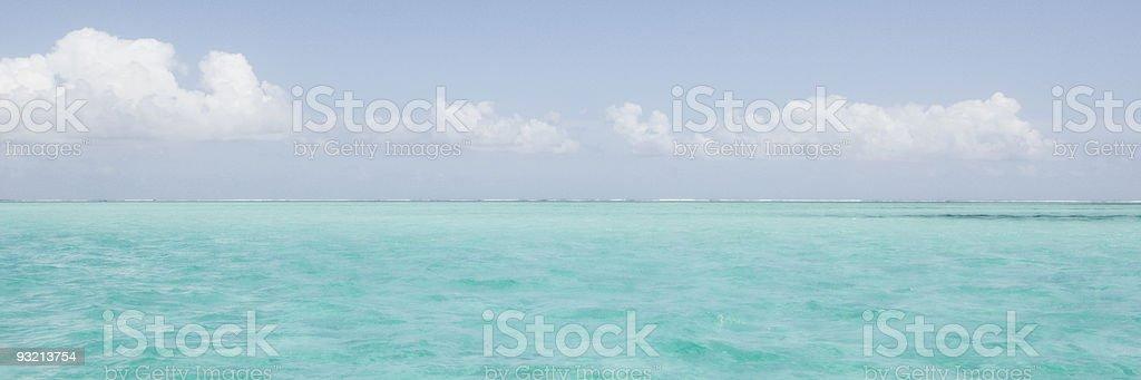 idyllic horizon stock photo