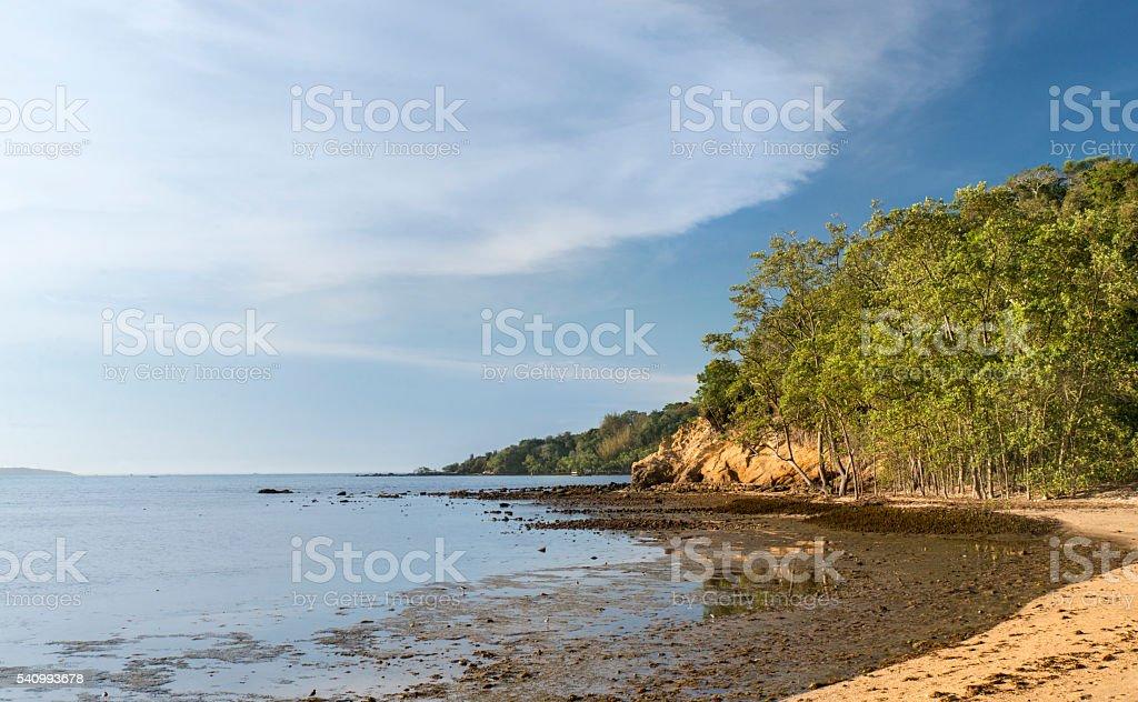 Idyllic Manguinhos Beach - Buzios royalty-free stock photo