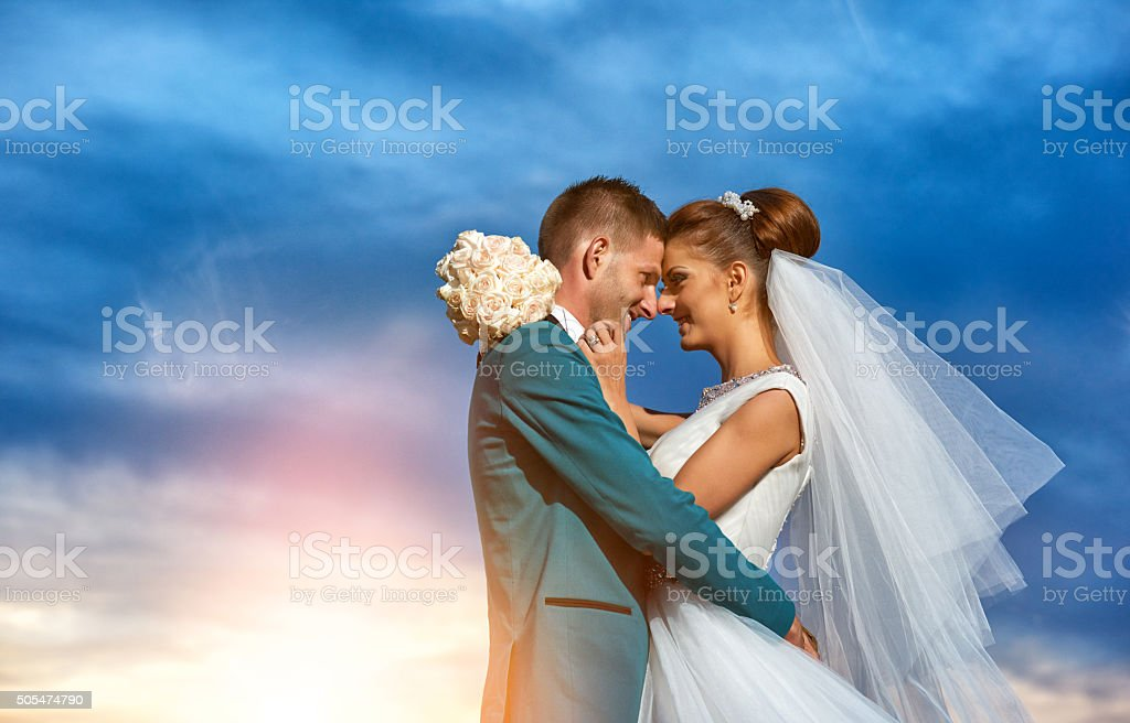 idyllic moments together stock photo