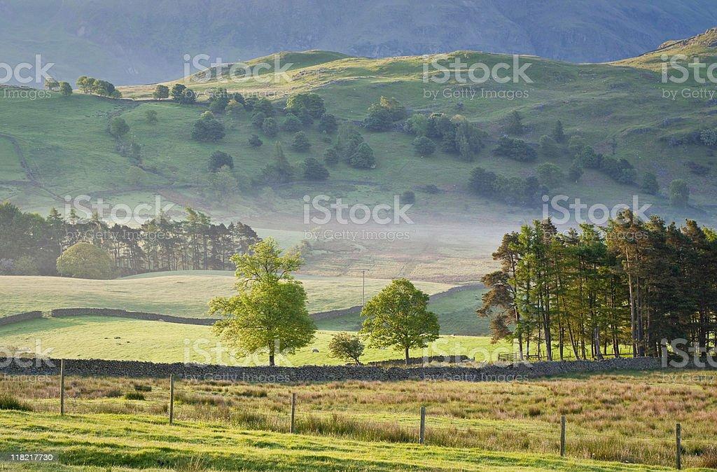Idyllic rural royalty-free stock photo