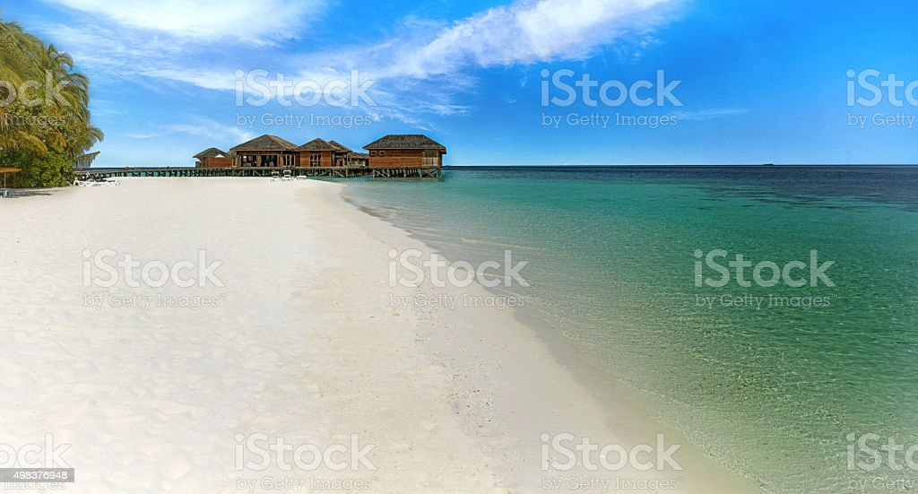 idyllic sea stock photo