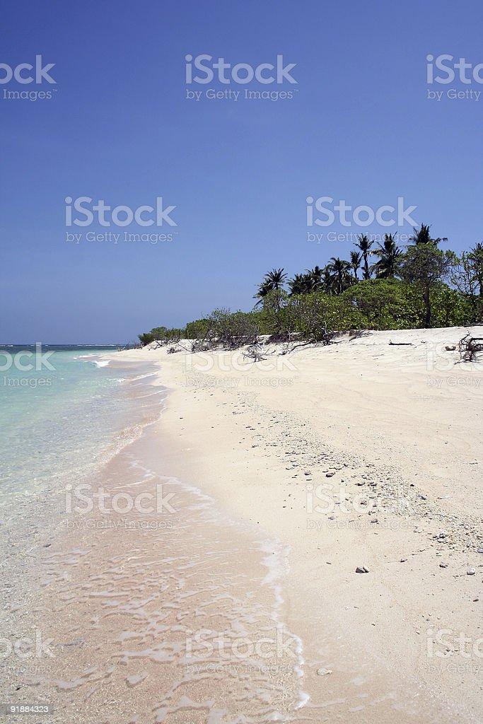 idyllic tropical  island beach philippines royalty-free stock photo