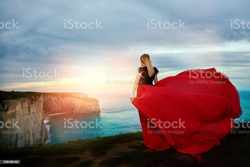 idyllic view stock photo