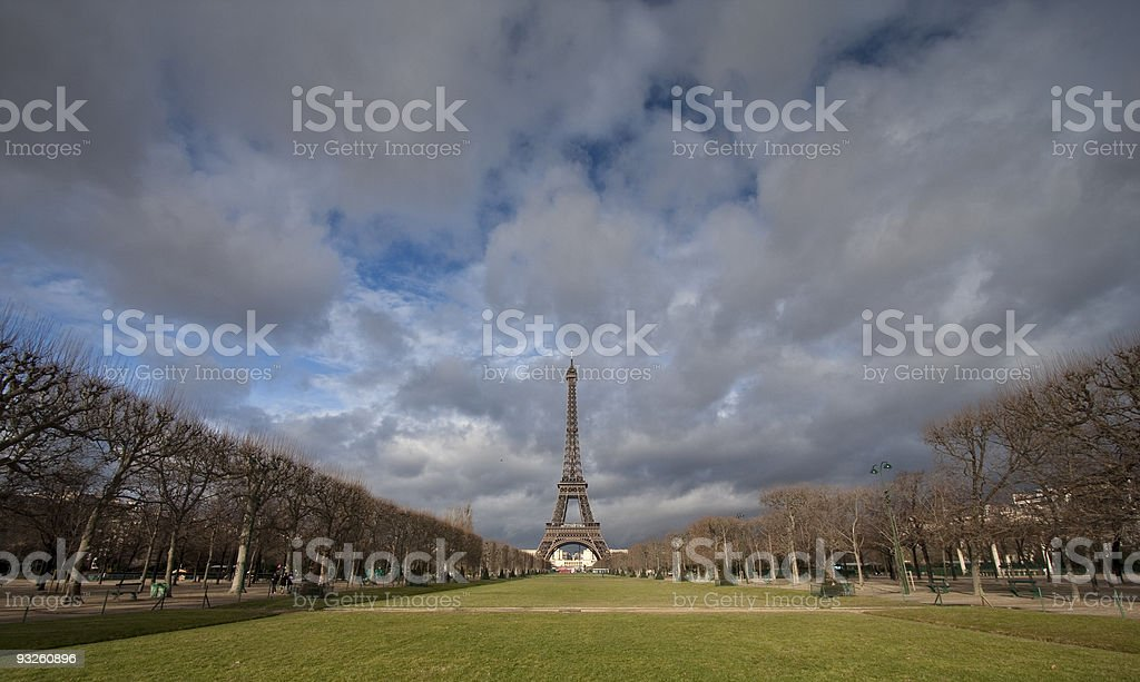 ieffel tower stock photo