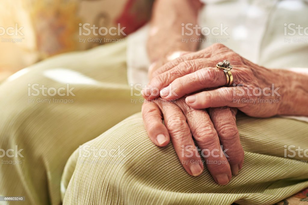 If hands could speak what story would they tell? stock photo