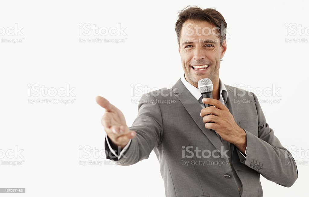 If I could do it, so can you! stock photo