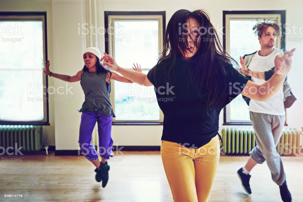 If life is the question, dance is the answer stock photo