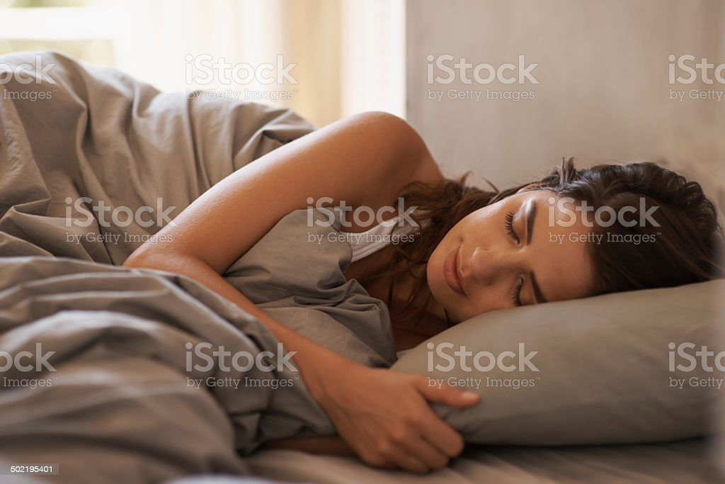 If only you knew what I dream about... stock photo