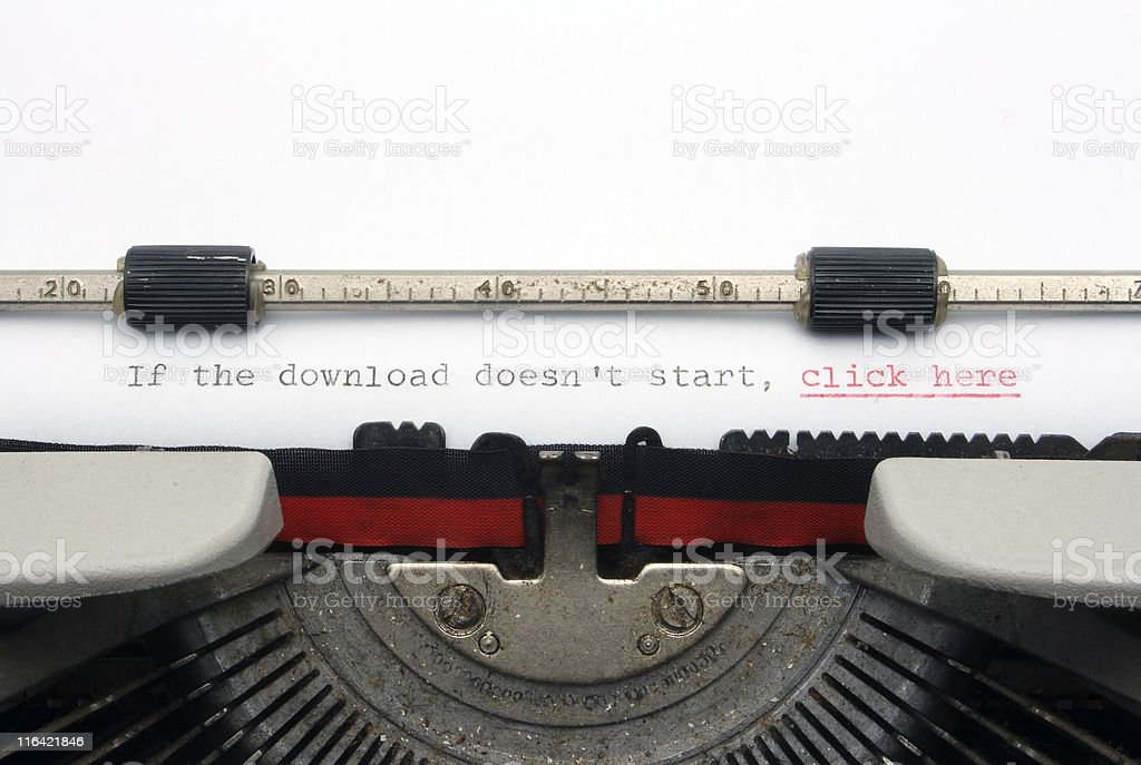 If the download doesn´t start, click here stock photo