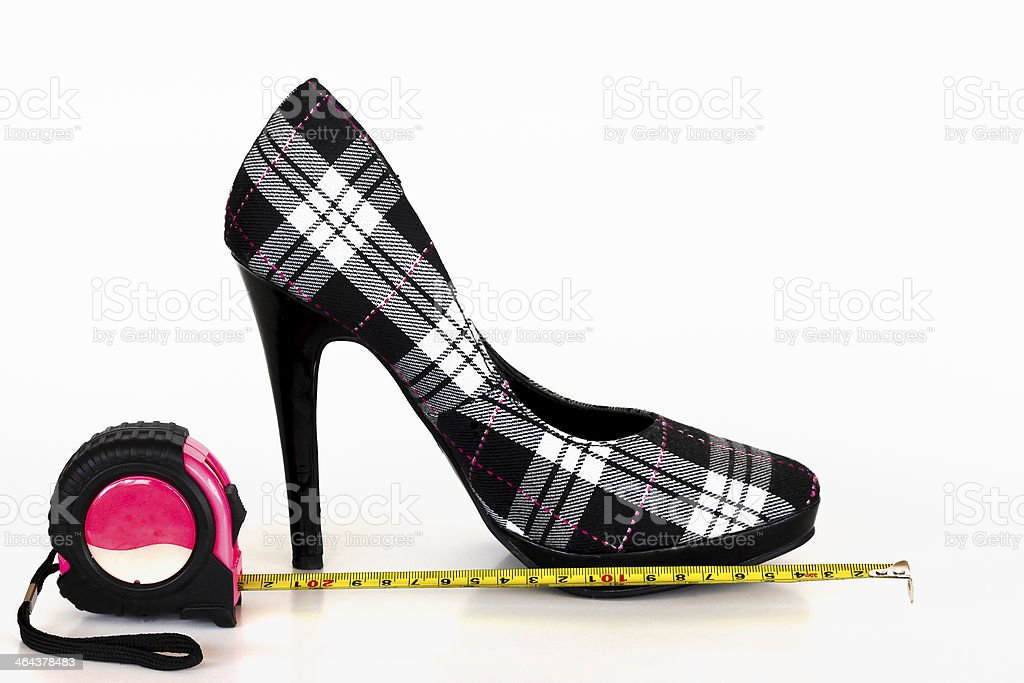If the shoe fits. royalty-free stock photo