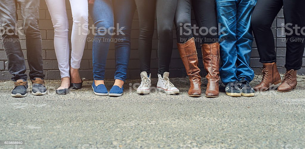 If the shoe fits stock photo