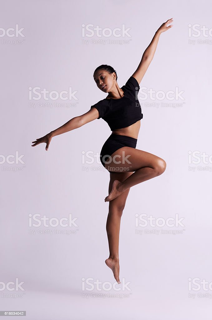 If you dance with your heart, your body will follow stock photo