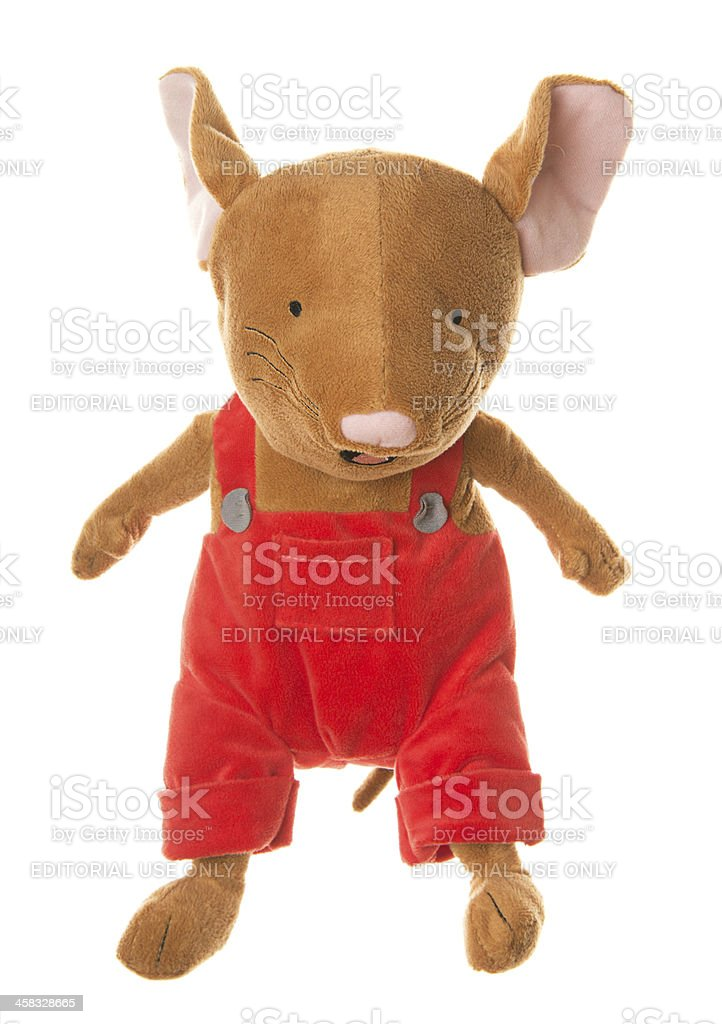 If You Give a Mouse Cookie Plush Stuffed Toy stock photo