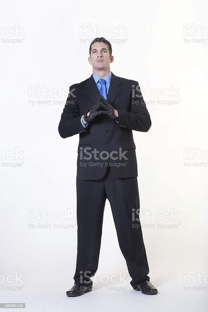 If you mess with me, you'll be in trouble stock photo