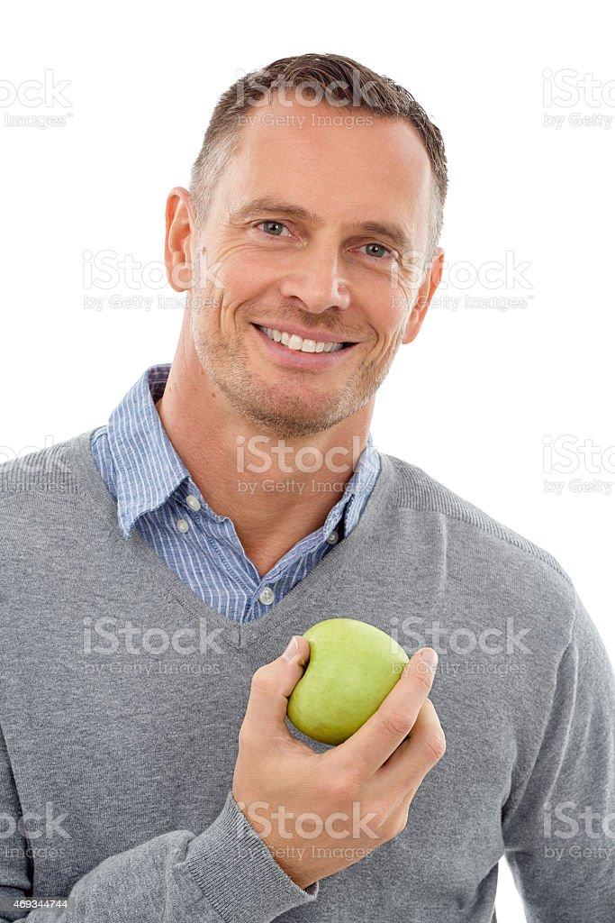 If you wanna keep the doctor away stock photo