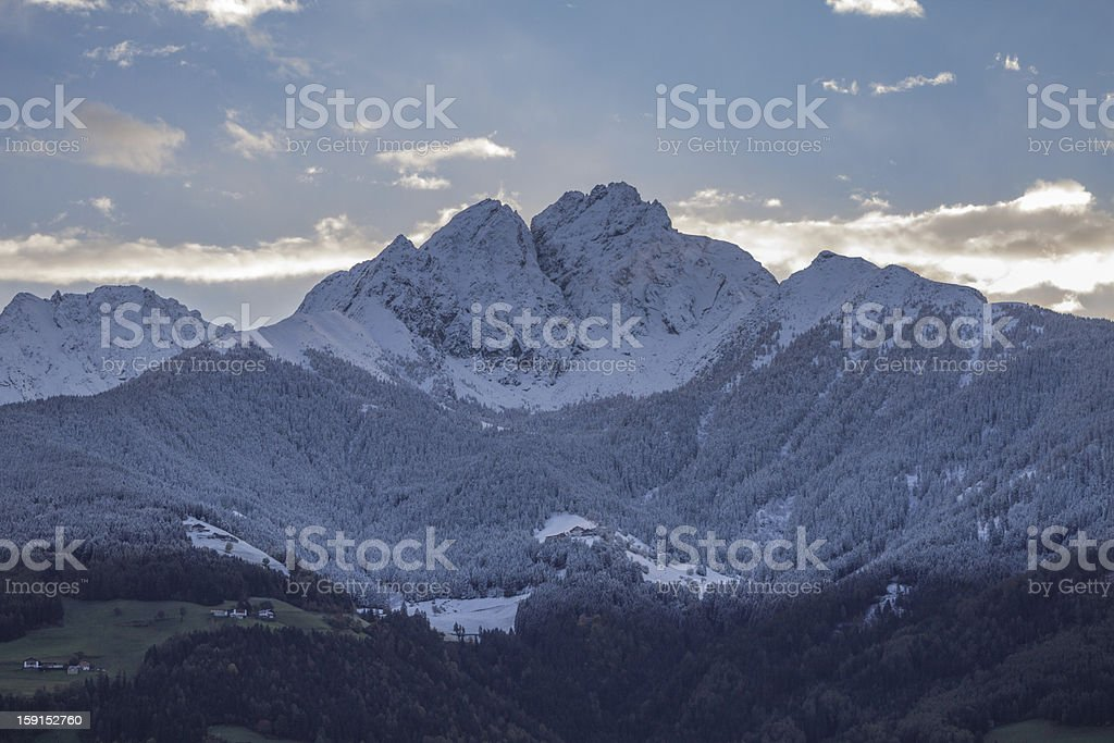 Ifinger South Tyrol stock photo