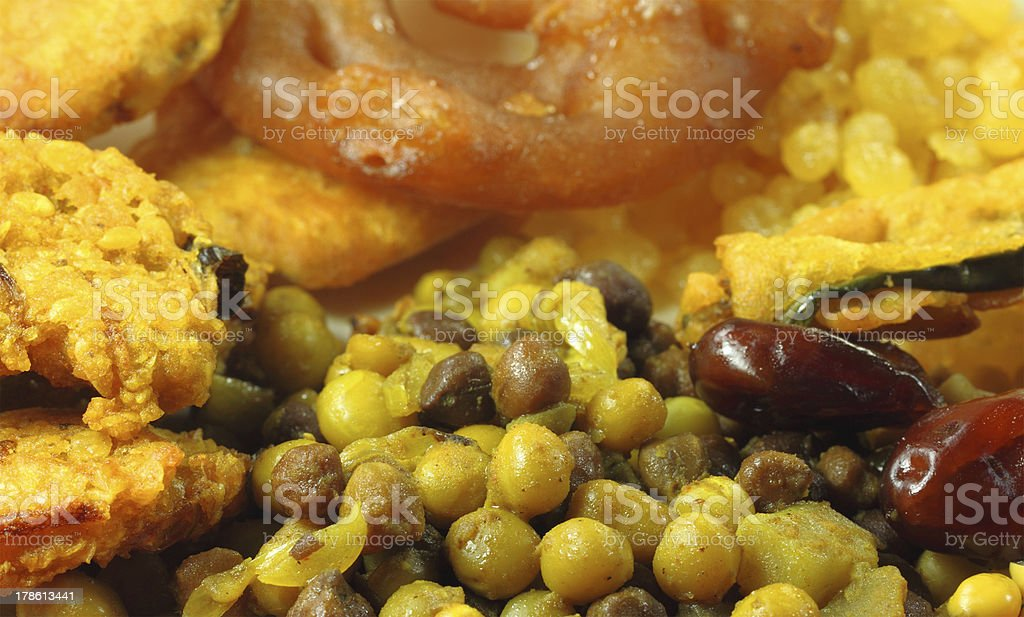 Iftar items for holy Ramadan stock photo