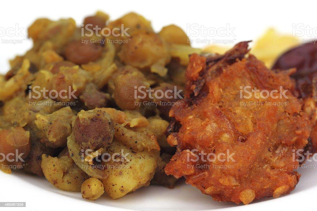 Iftar items stock photo
