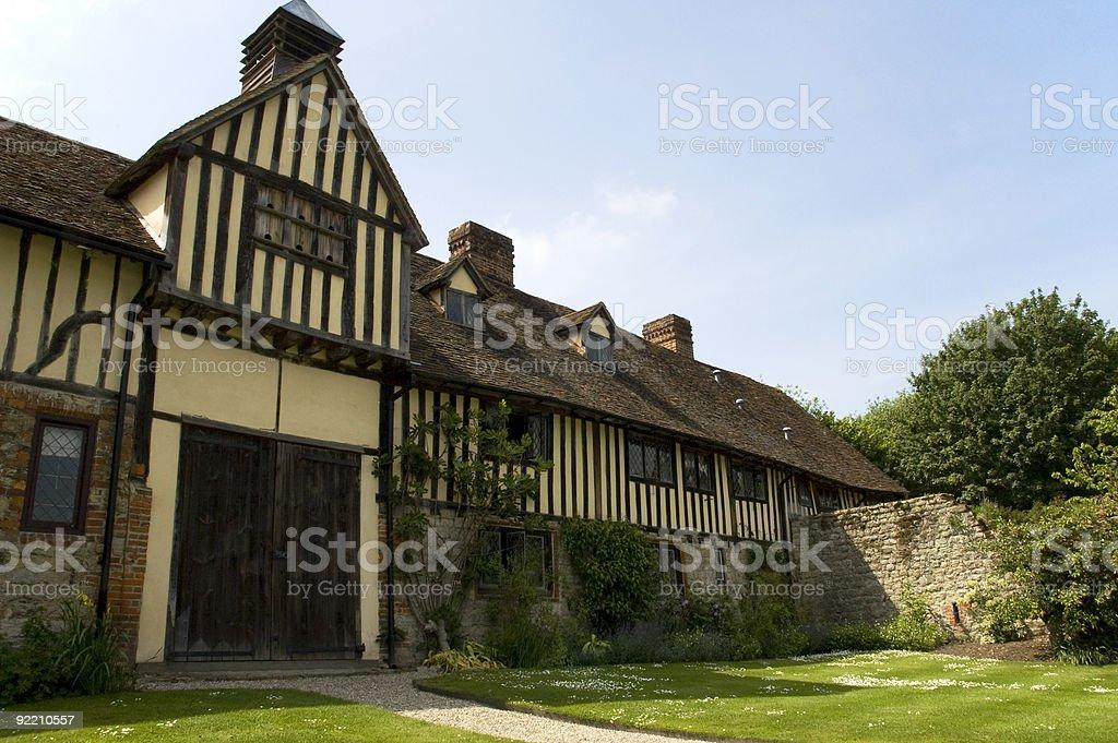 Ightham Mote, Kent stock photo