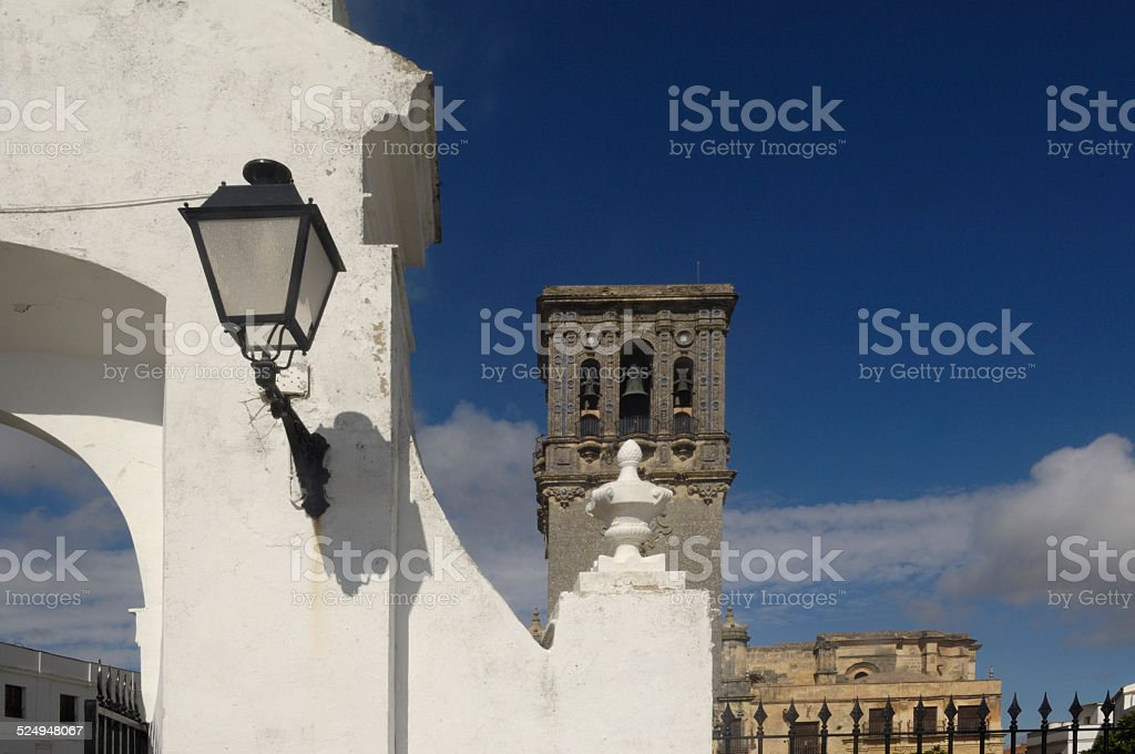 igleisa, Arcos de la Frontera, Andalucia stock photo