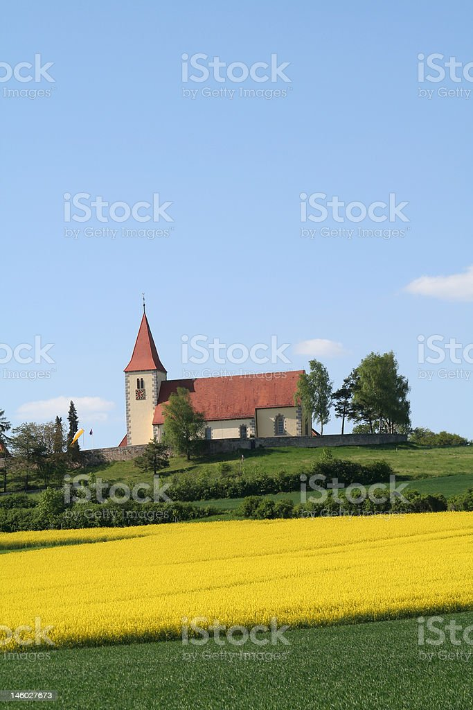Iglesia bavara royalty-free stock photo