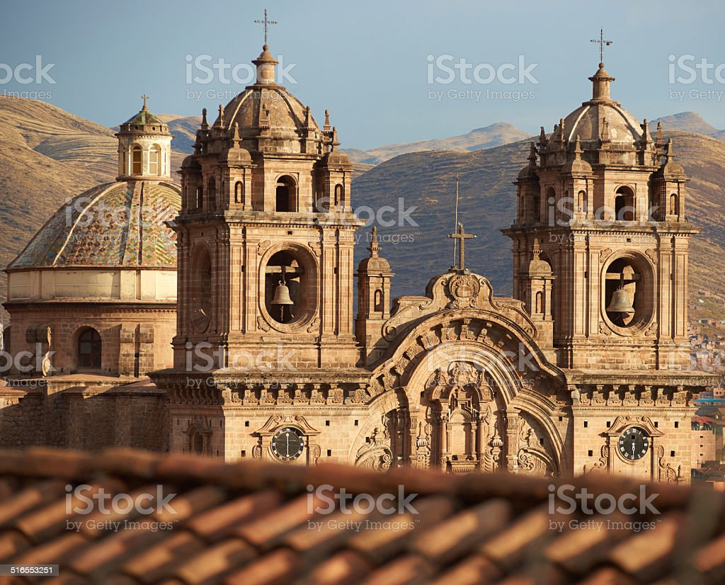 Iglesia de la Compania stock photo