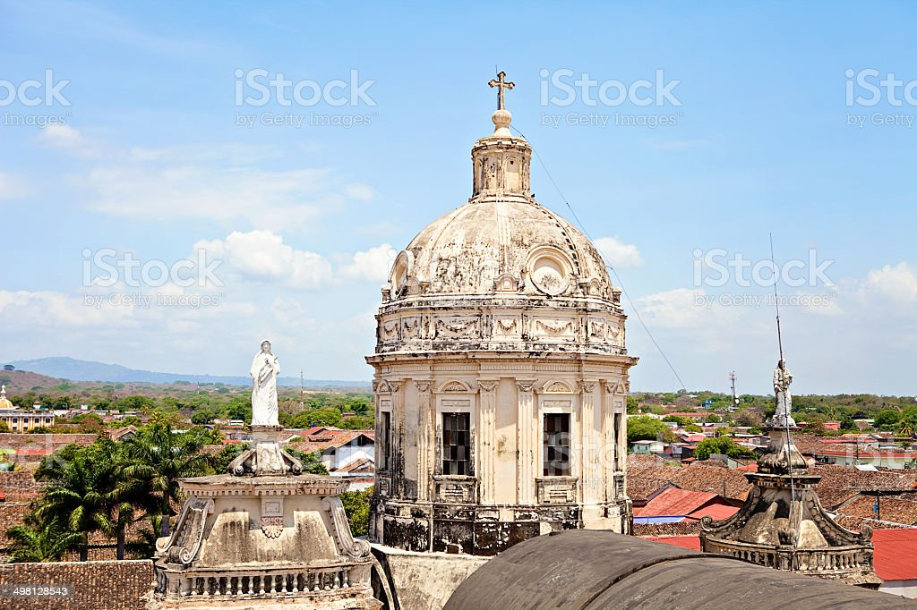 Iglesia de la Merced royalty-free stock photo