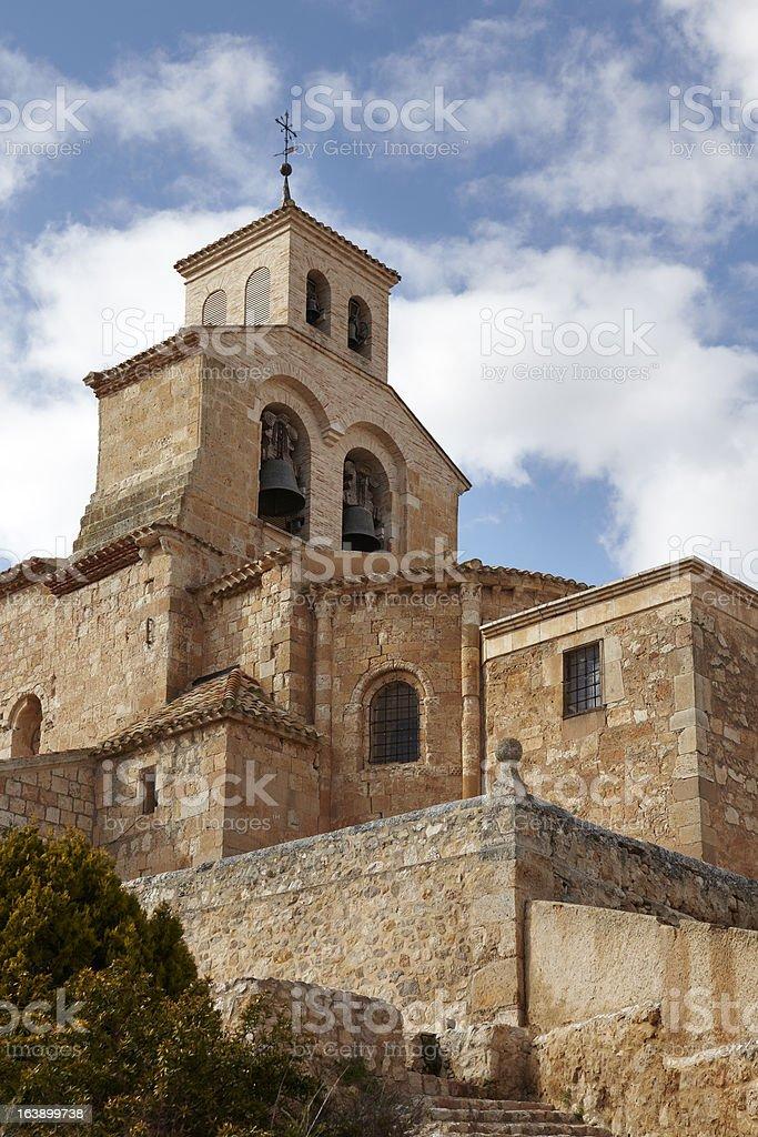 Iglesia de Nuestra Se?ora del Rivero royalty-free stock photo
