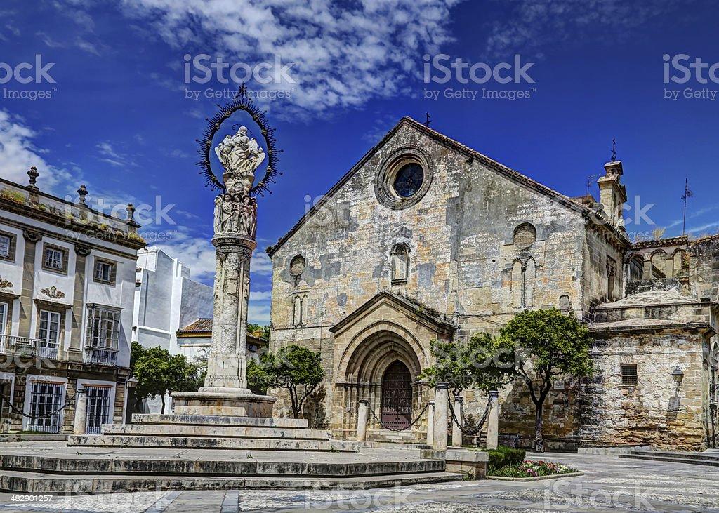 Iglesia de San Dionisio, Jerez Spain stock photo