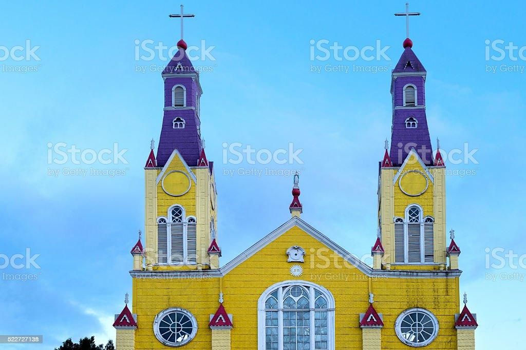 Iglesia de San Francisco stock photo