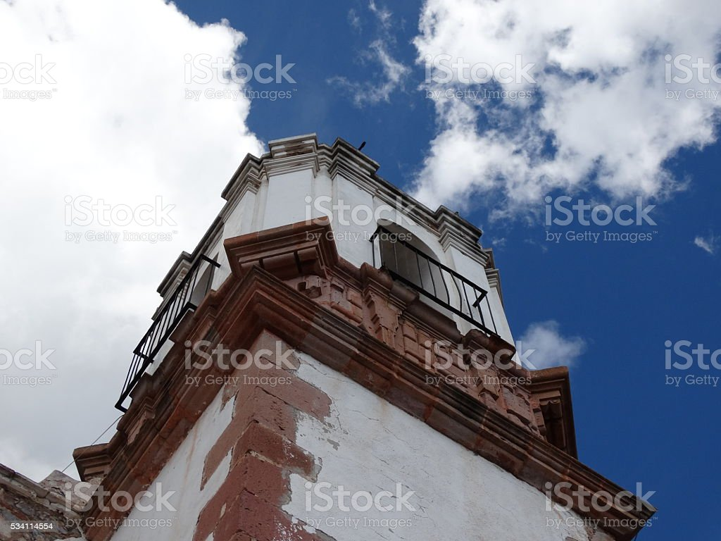Iglesia en Mexico stock photo