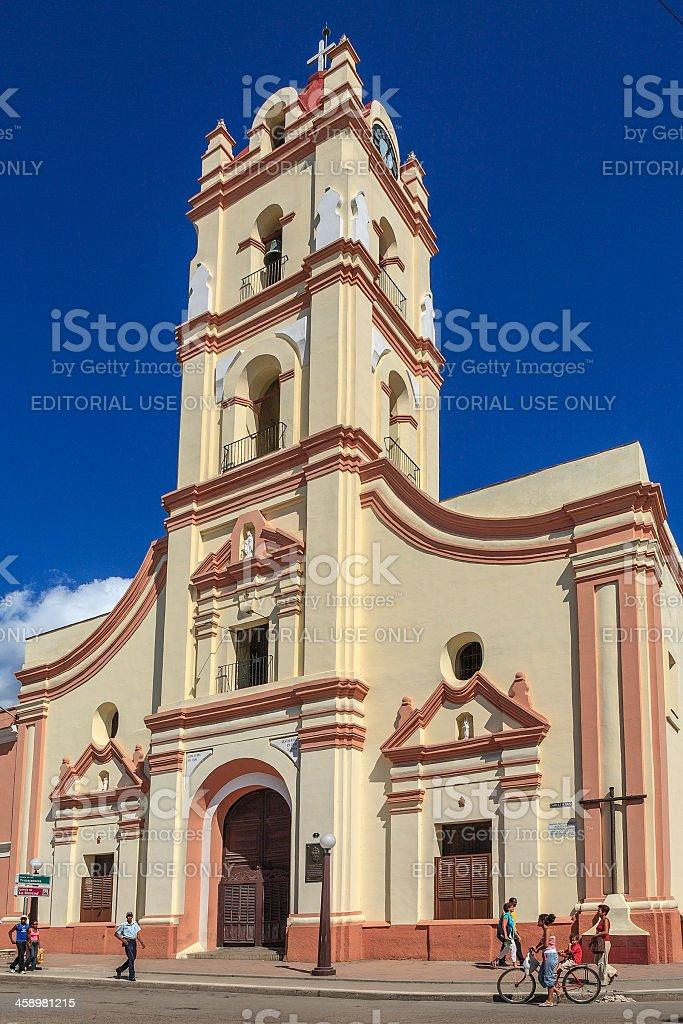 Iglesia Nuestra Senora de la Merced, Camagüey, Cuba stock photo