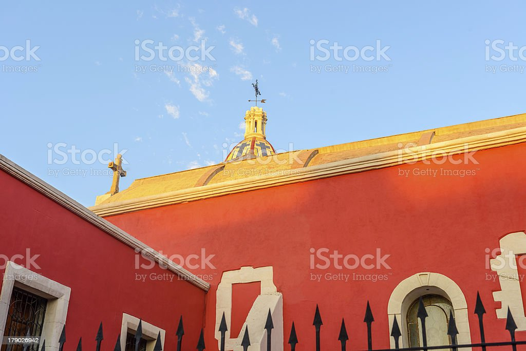Iglesia San Esteban stock photo