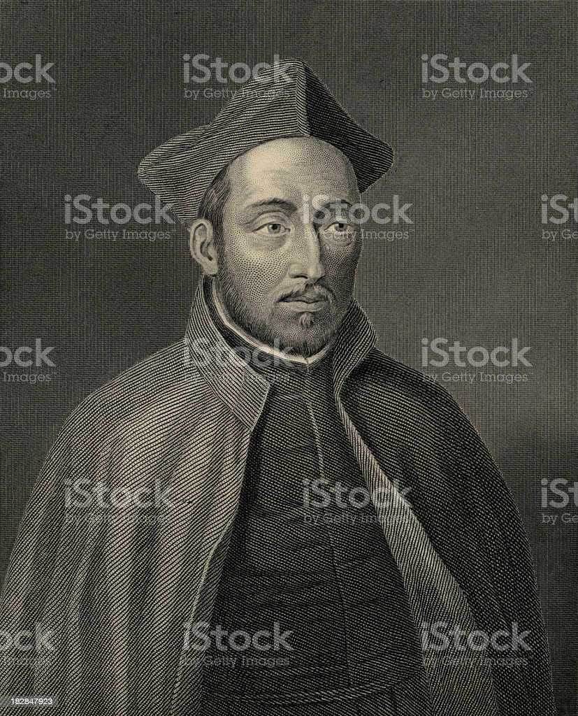 Ignatius de Loyola (XXXL) stock photo