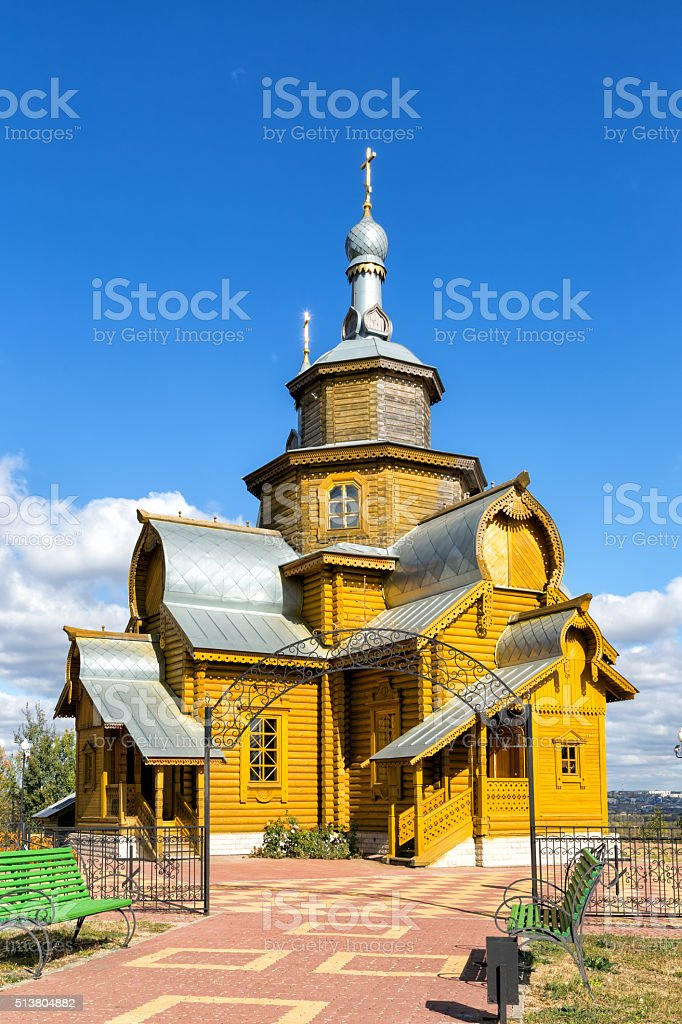 Ignatius of Antioch Church. Valuyki, Russia stock photo