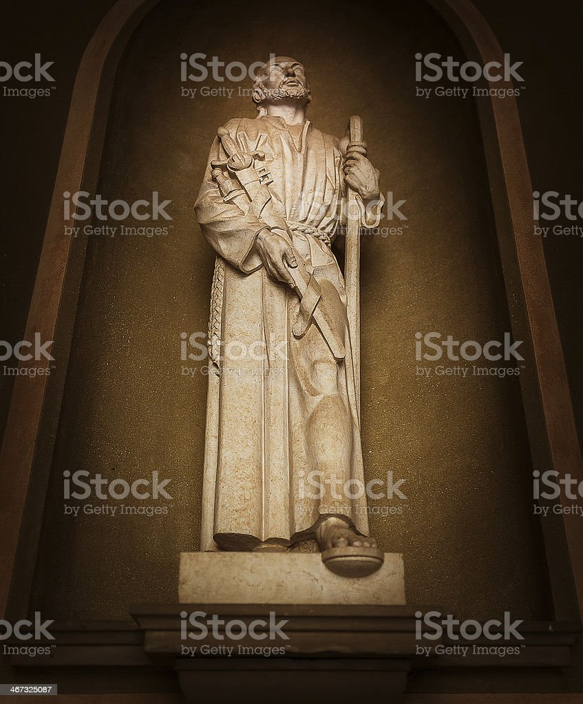Ignatius of Loyola stock photo