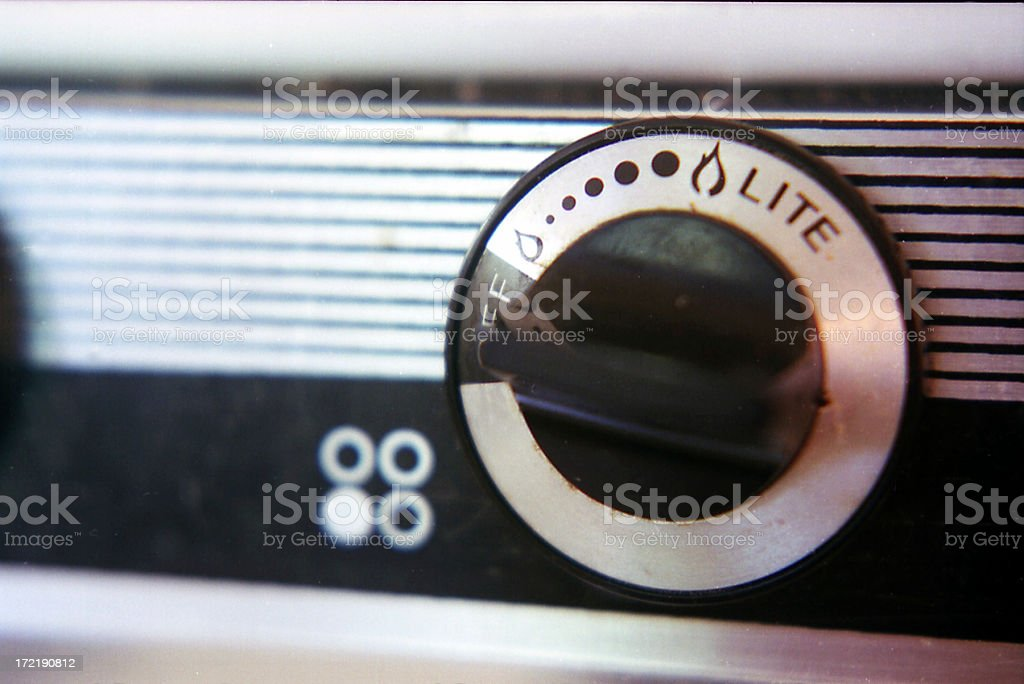Ignition royalty-free stock photo