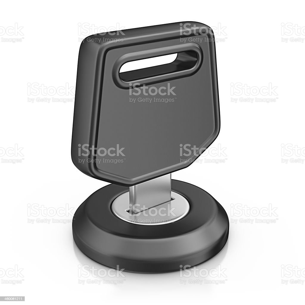 ignition switch stock photo