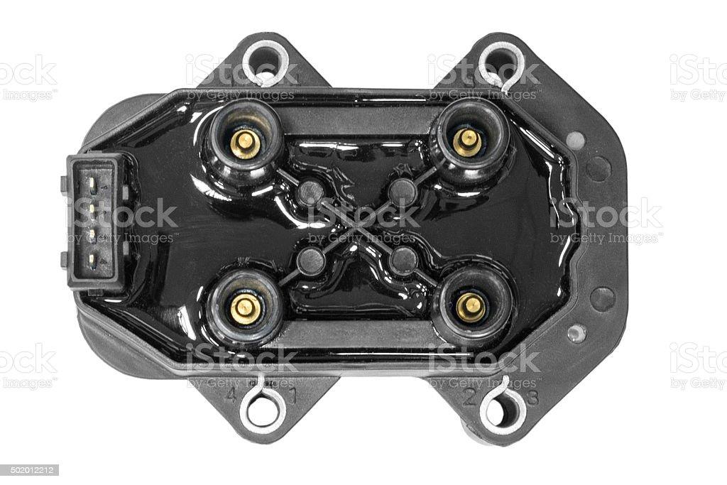 Ignition unit car stock photo