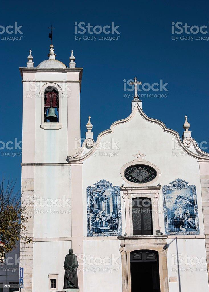 Igreja da Vera Cruz, Aveiro stock photo
