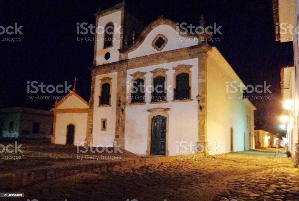 Igreja de Santa Rita, Paraty, Rio de Janeiro state, Brazil stock photo