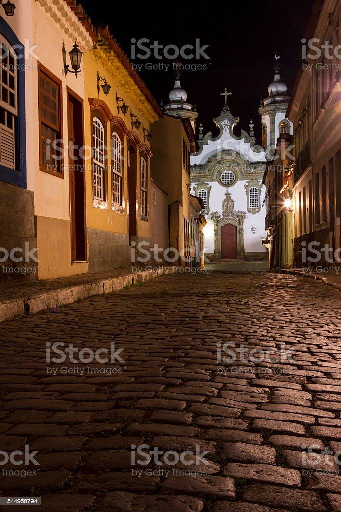 Igreja São João del Rey, Brasil stock photo