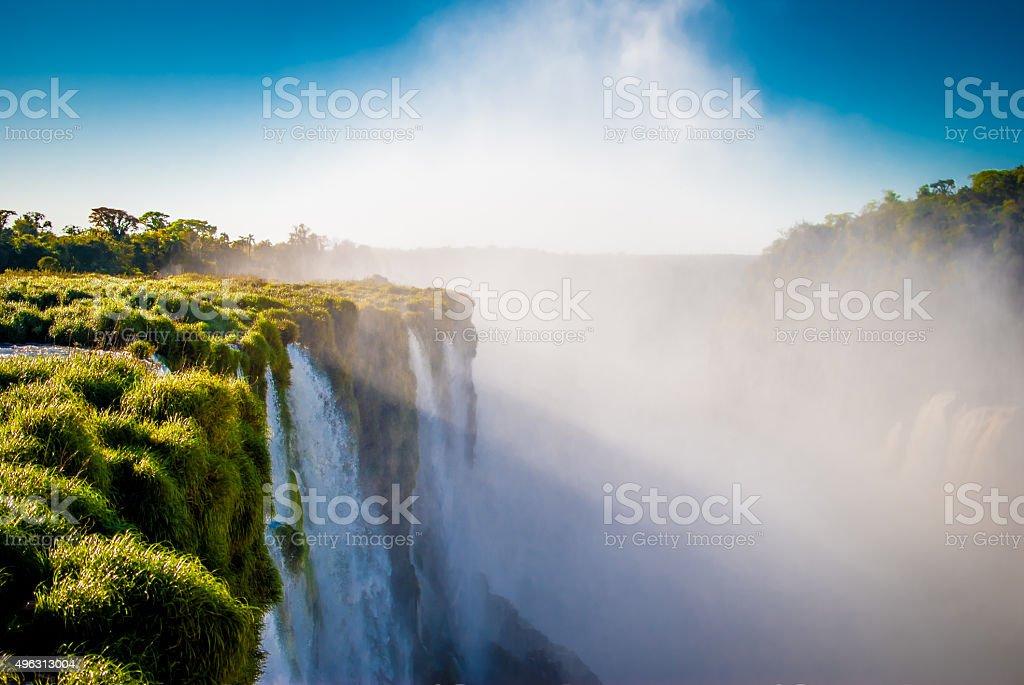 Iguaçú Falls stock photo