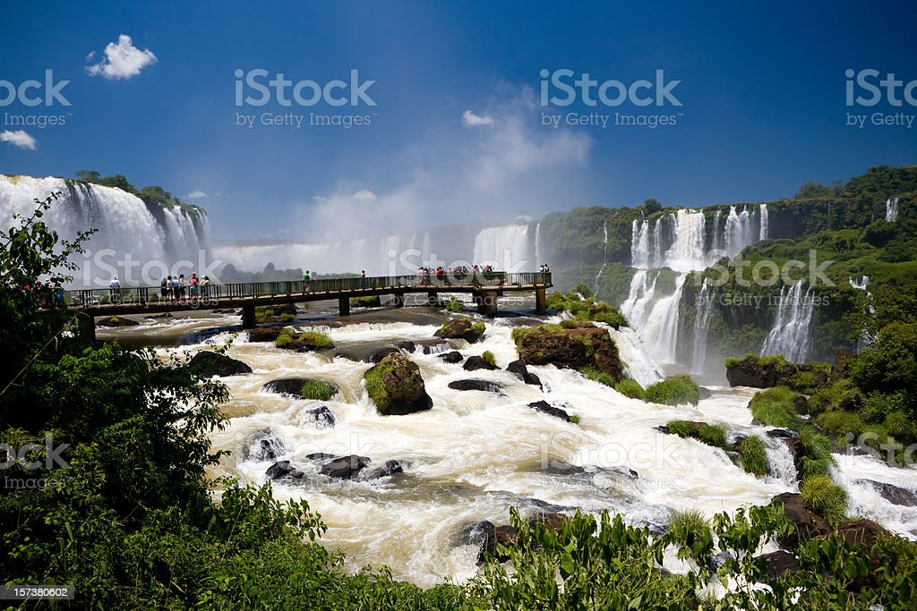Iguacu Cascades royalty-free stock photo