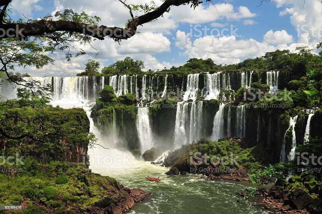 Iguacu Falls, Argentina stock photo