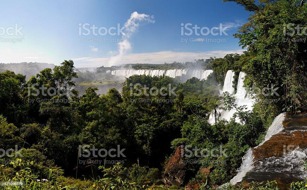 Iguacu Falls royalty-free stock photo