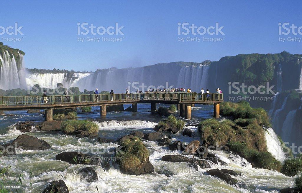 Iguacu Falls stock photo