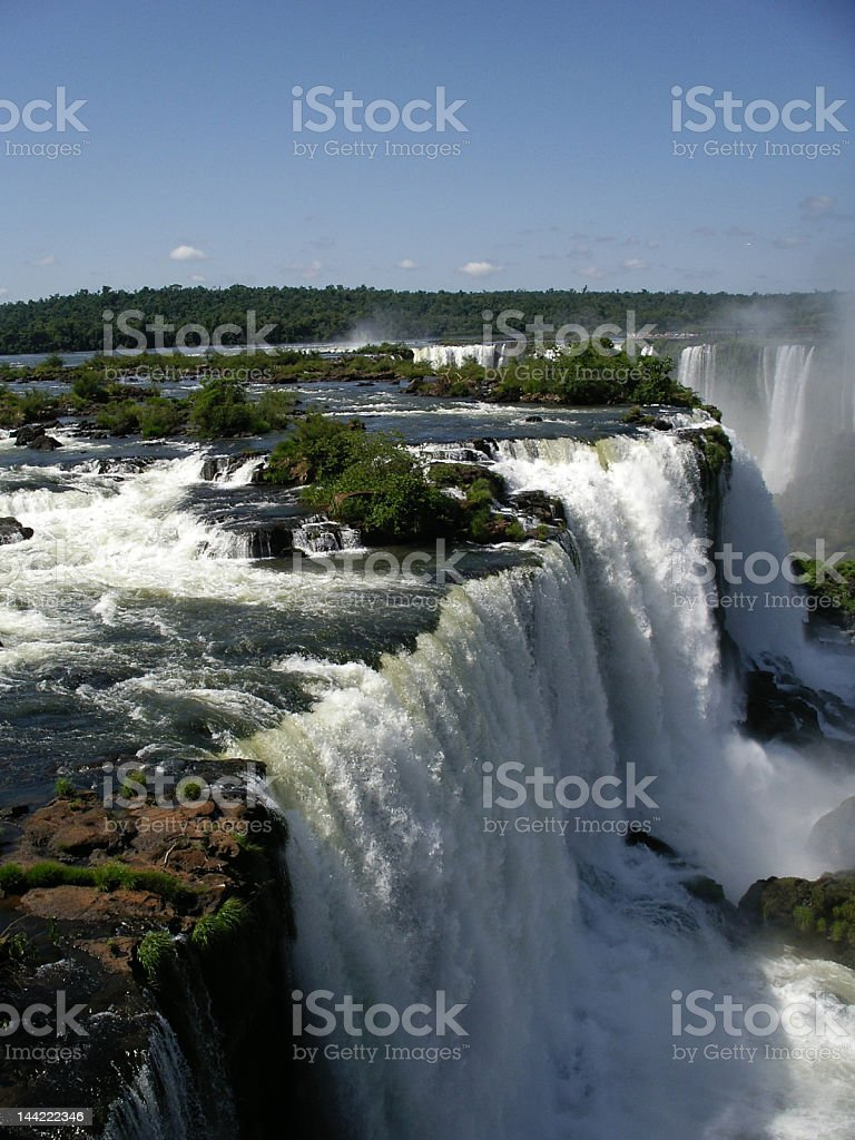 Iguacu waterfalls, Argentina royalty-free stock photo