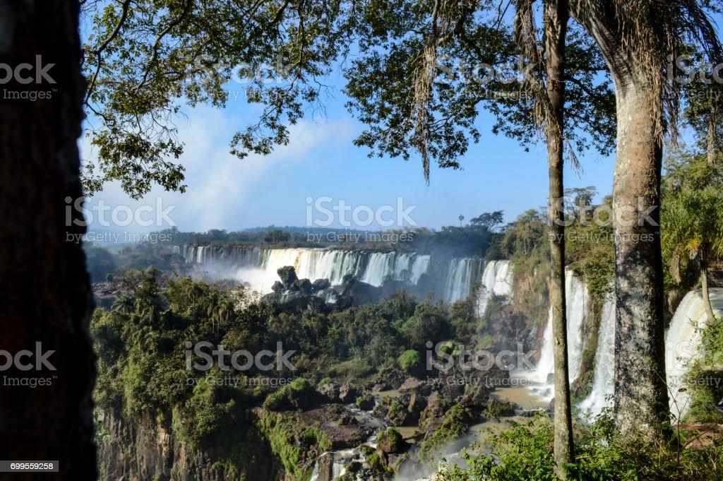 Iguassu Falls stock photo